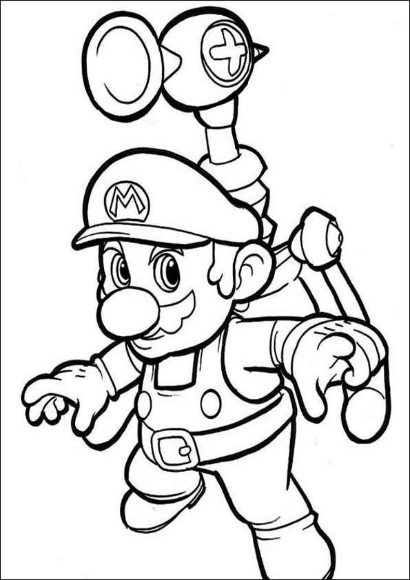 Super Mario Malvorlage Neu Ausmalbilder Super Mario 13 Ausmalbilder Pinterest Bild