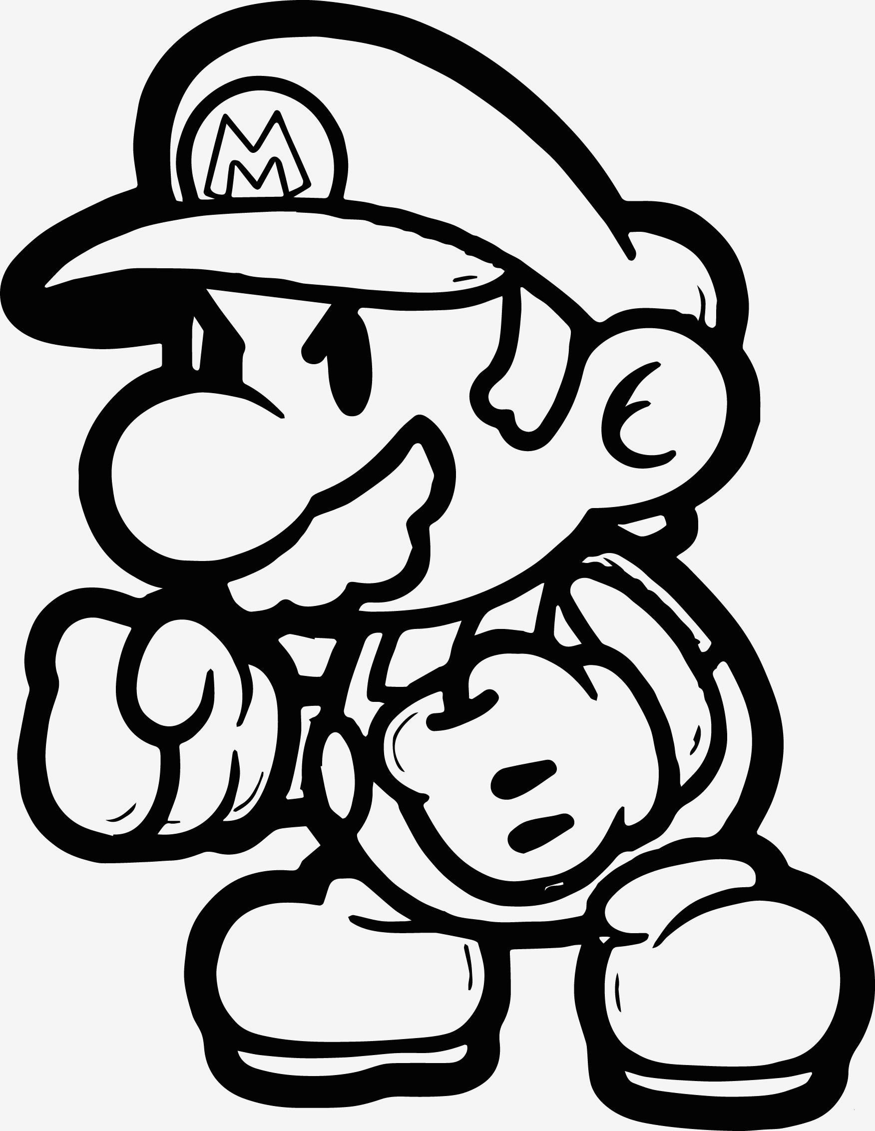 Super Mario Malvorlagen Das Beste Von 34 Schön Mario Ausmalbilder