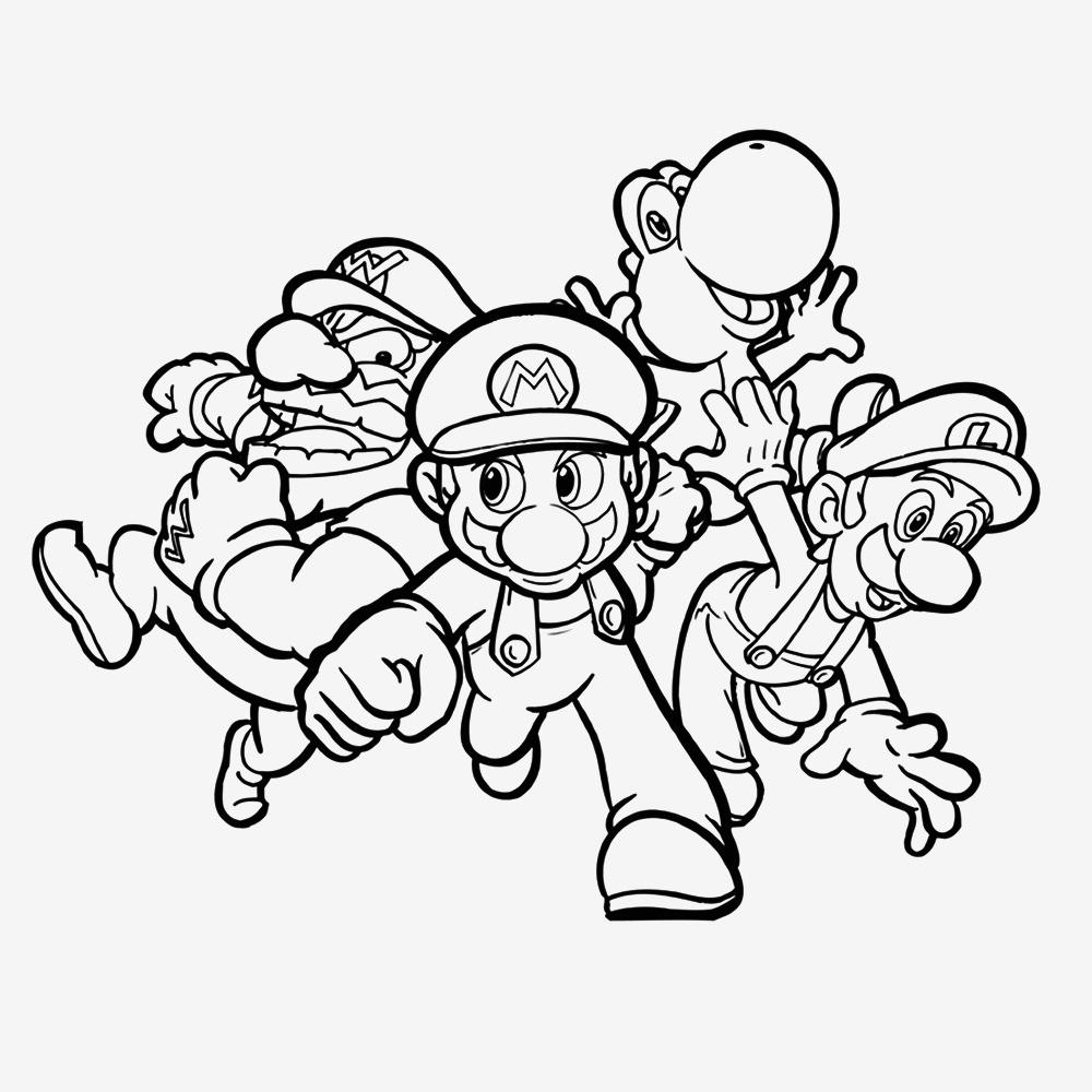 Super Mario Malvorlagen Einzigartig 28 Schön Mario Und Luigi Ausmalbilder Mickeycarrollmunchkin Genial Bilder