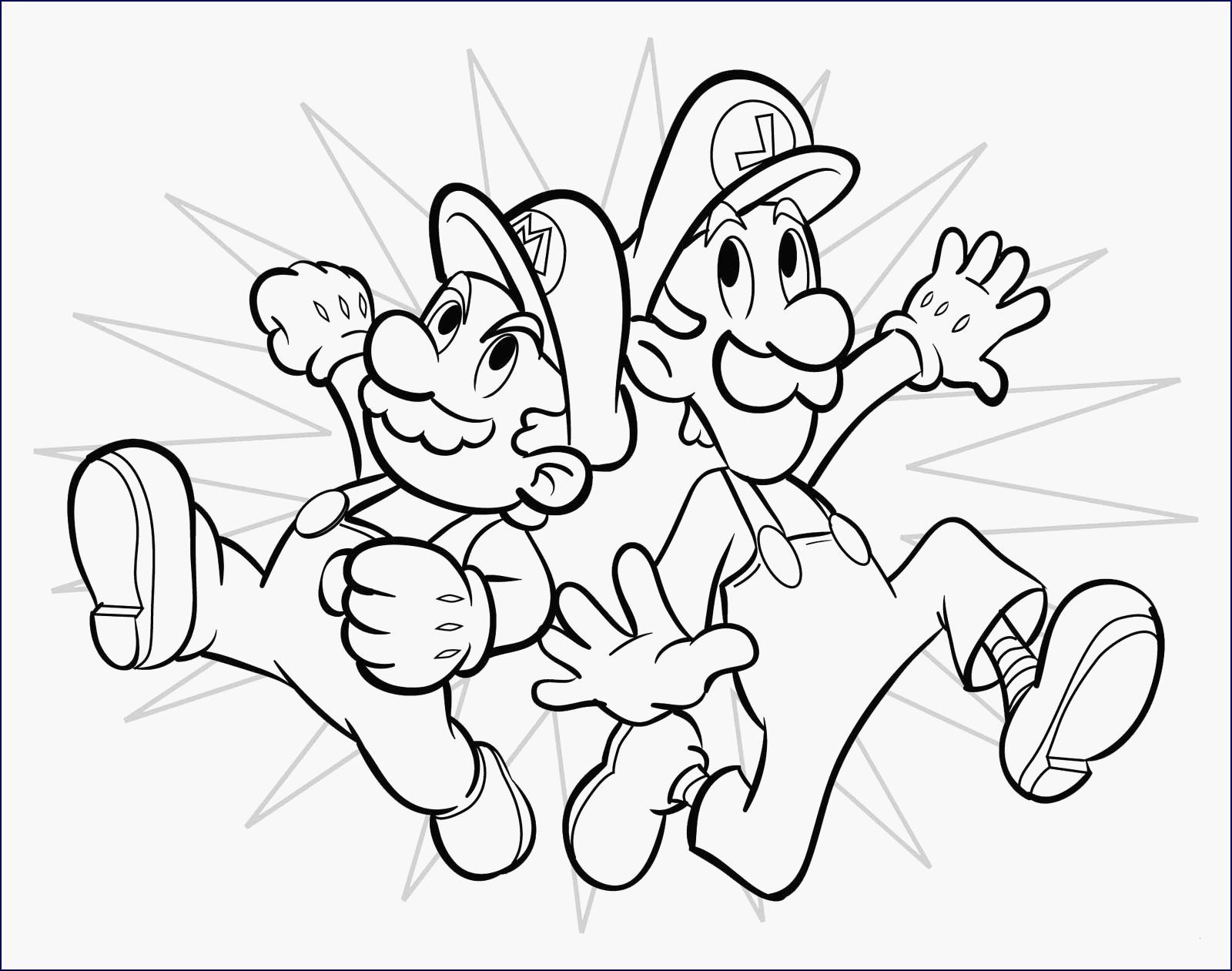 99 Einzigartig Super Mario Malvorlagen Stock Kinder Bilder
