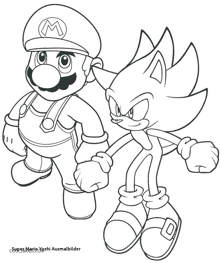 Super Mario Malvorlagen Frisch Ausdruckbilder Super Mario Yoshi Ausmalbilder Mario and Luigi Fotografieren