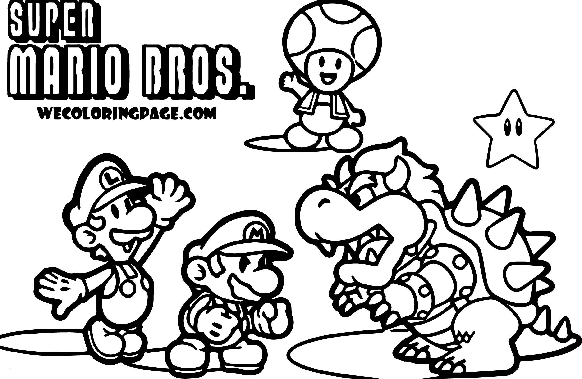 Super Mario Malvorlagen Inspirierend Super Mario Brothers Coloring Pages Best Ausgezeichnet Super Elegant Bilder