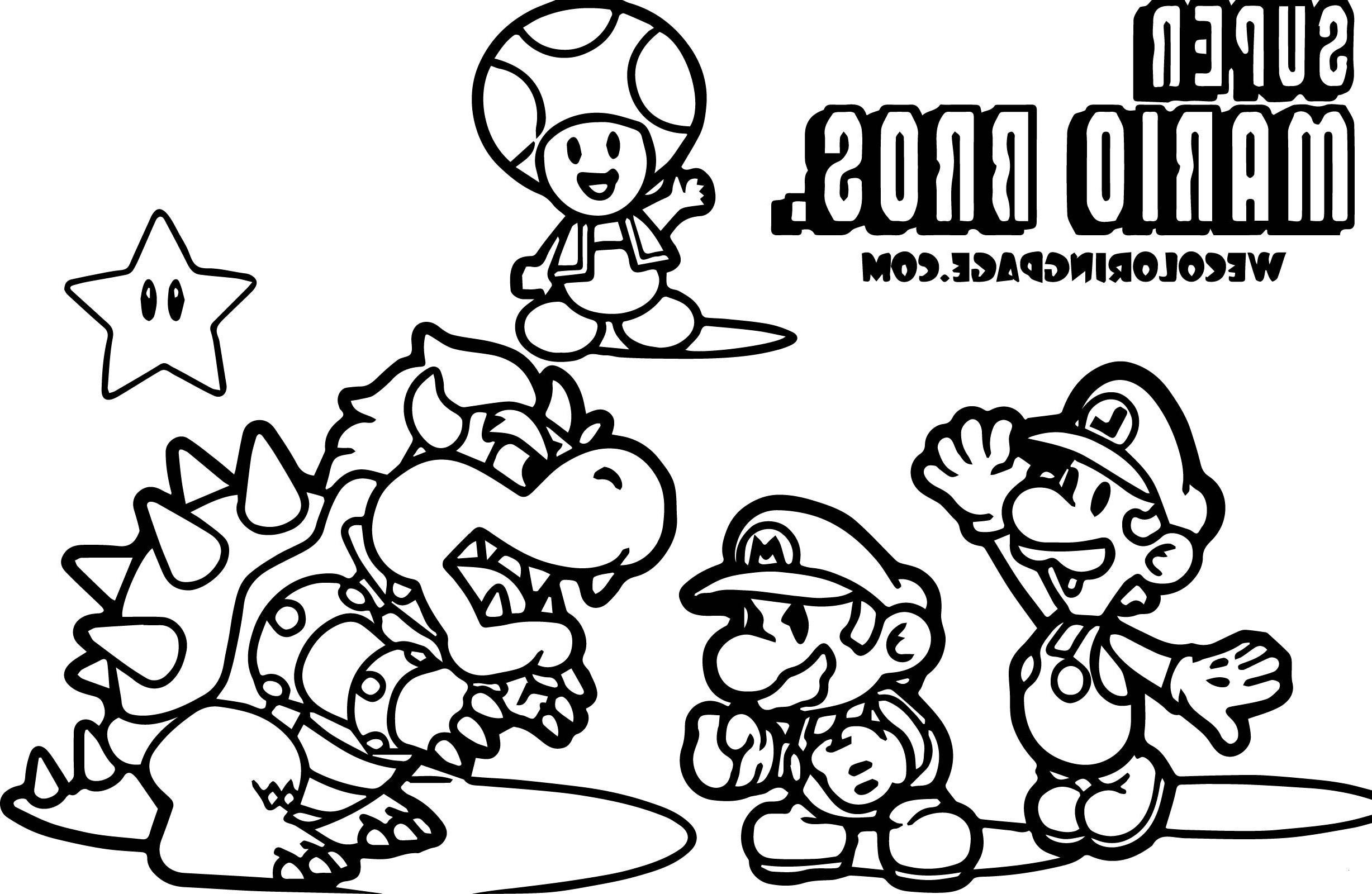 Super Mario Pilz Ausmalbilder Einzigartig 28 Inspirierend Ausmalbild Super Mario – Malvorlagen Ideen Stock