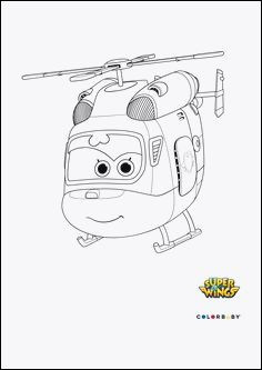 Super Wings Coloring Pages Das Beste Von Ausmalbilder Super Wings Stock