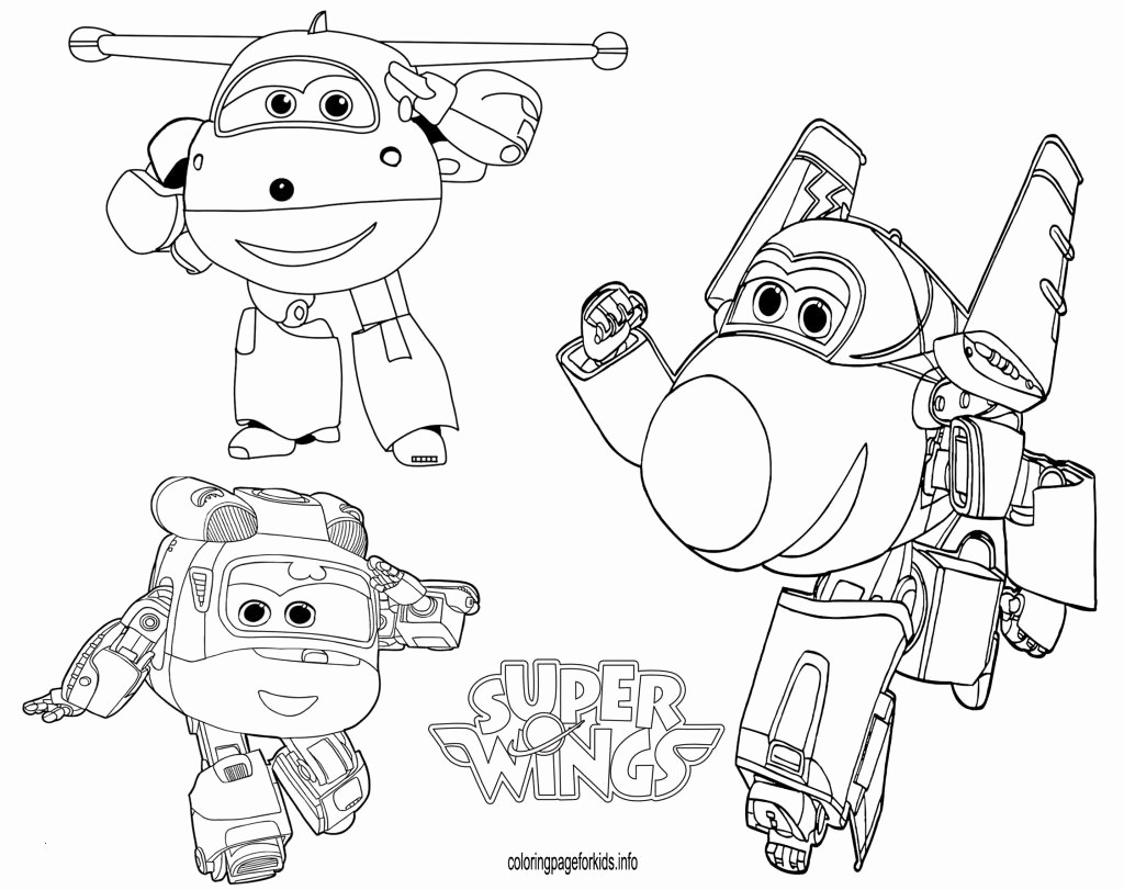 Super Wings Coloring Pages Einzigartig Coloring Pages top Wings Unique Fresh Super Wings Coloring Pages Bild