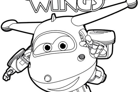 Super Wings Coloring Pages Einzigartig Super Wings Logo Coloring Pages for Kids Printable Festas Das Bild
