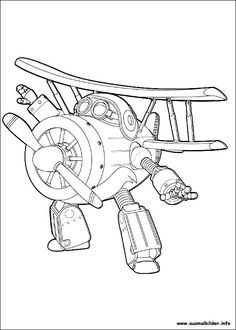 Super Wings Coloring Pages Frisch 8 Best Ausmalbilder Super Wings 01 Images On Pinterest Sammlung