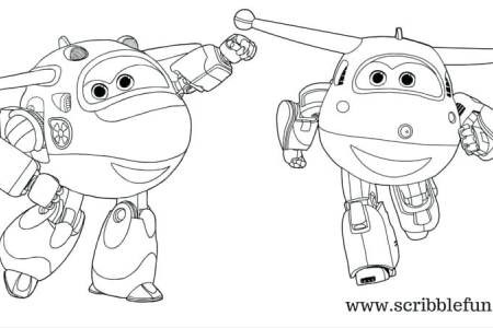 Super Wings Coloring Pages Frisch Super Wings Logo Coloring Pages for Kids Printable Festas Sammlung
