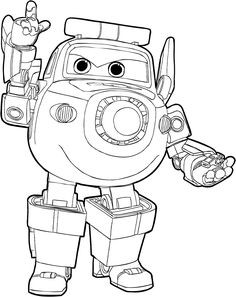 Super Wings Coloring Pages Genial 7 Best Super Wings Coloring Pages Images In 2018 Das Bild