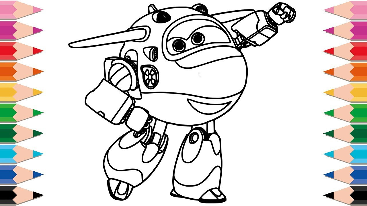 Super Wings Coloring Pages Genial Super Wings Coloring Page Package Fotos