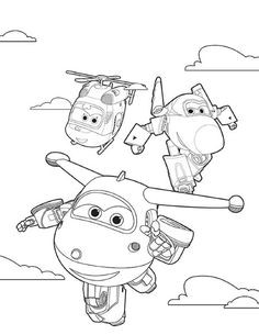 Super Wings Coloring Pages Neu 8 Best Ausmalbilder Super Wings 01 Images On Pinterest Bilder