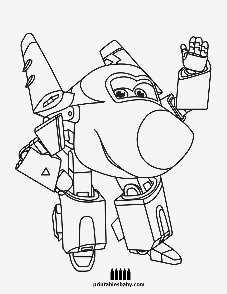 Super Wings Coloring Pages Neu Bilder Zum Ausmalen Bekommen Ausmalbilder Super Wings Bild