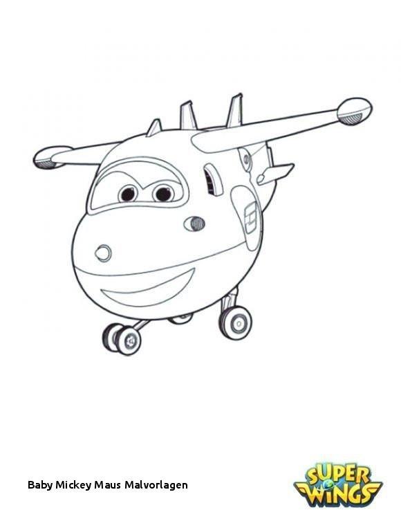 Super Wings Malvorlage Genial Baby Mickey Maus Malvorlagen Super Wings Ausmalbilder Kostenlos Bild