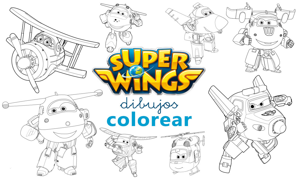 Super Wings Malvorlage Inspirierend Dibujos Colorear Super Wings Donnie Coloring Pages Frisch Stock