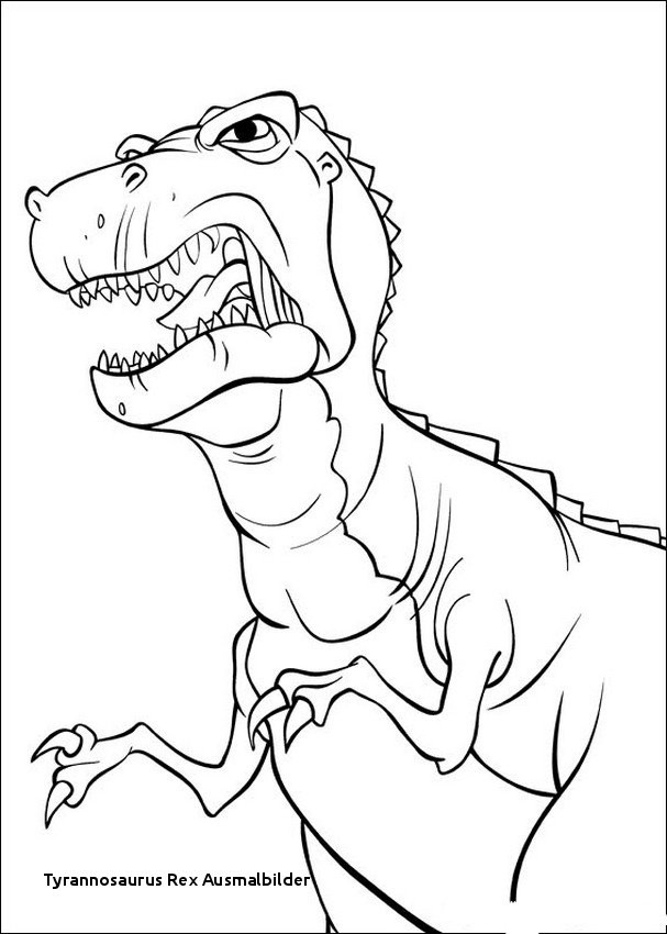 T Rex Ausmalbild Neu 27 Tyrannosaurus Rex Ausmalbilder Colorbooks Colorbooks Das Bild