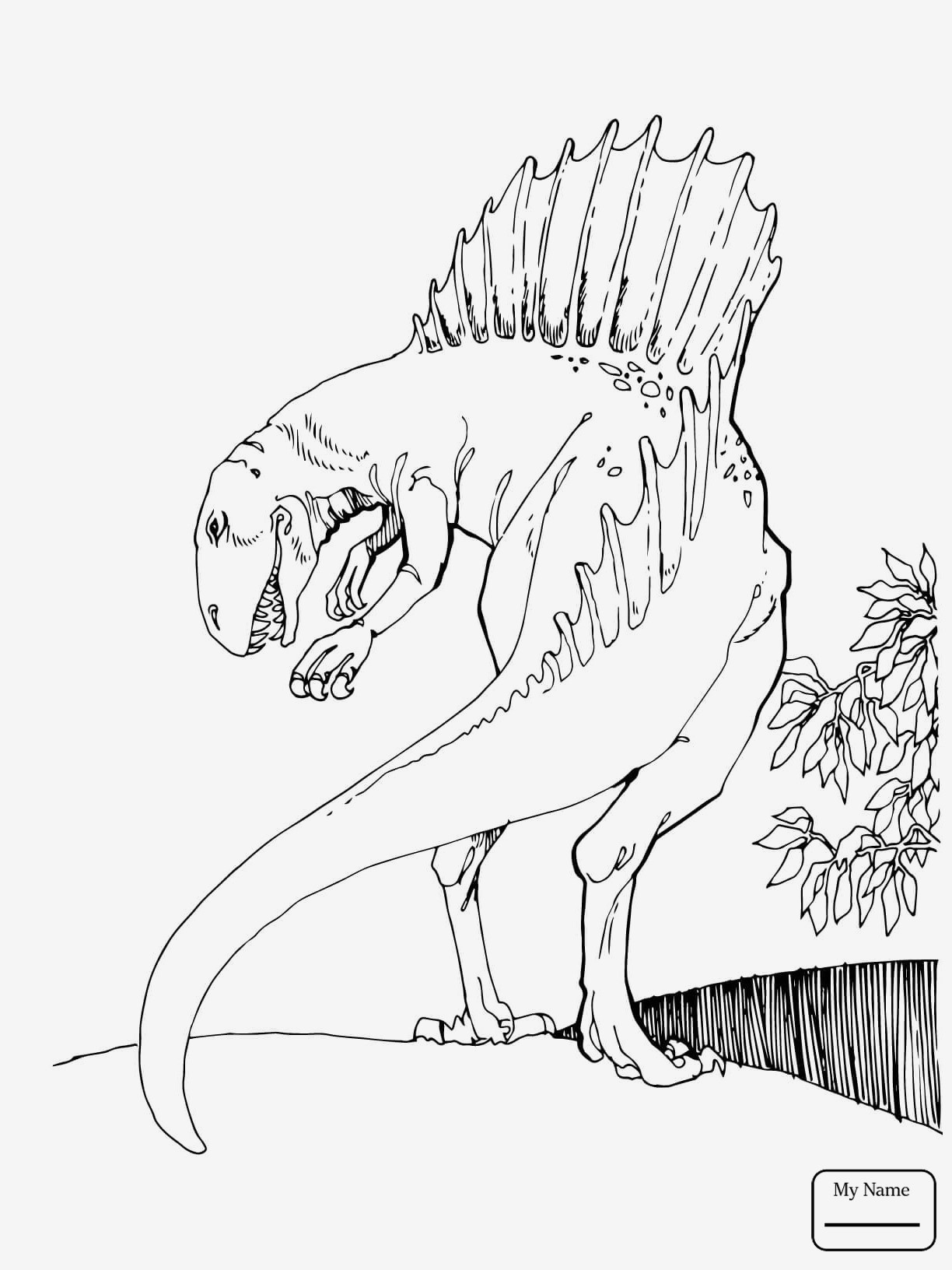 T Rex Zum Ausmalen Inspirierend Spannende Coloring Bilder T Rex Malvorlagen Kostenlos Das Bild