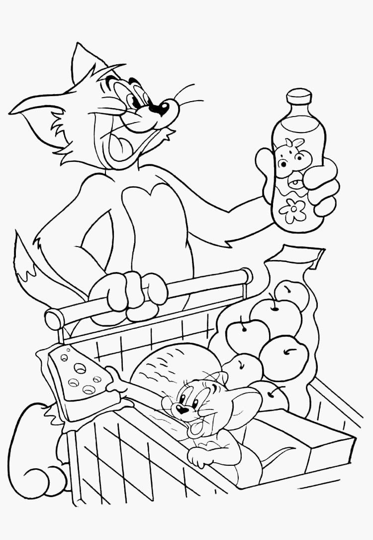Tom Und Jerry Ausmalbilder Inspirierend Ausmalbilder Malvorlagen Von tom Und Jerry Kostenlos Zum Neu tom Sammlung