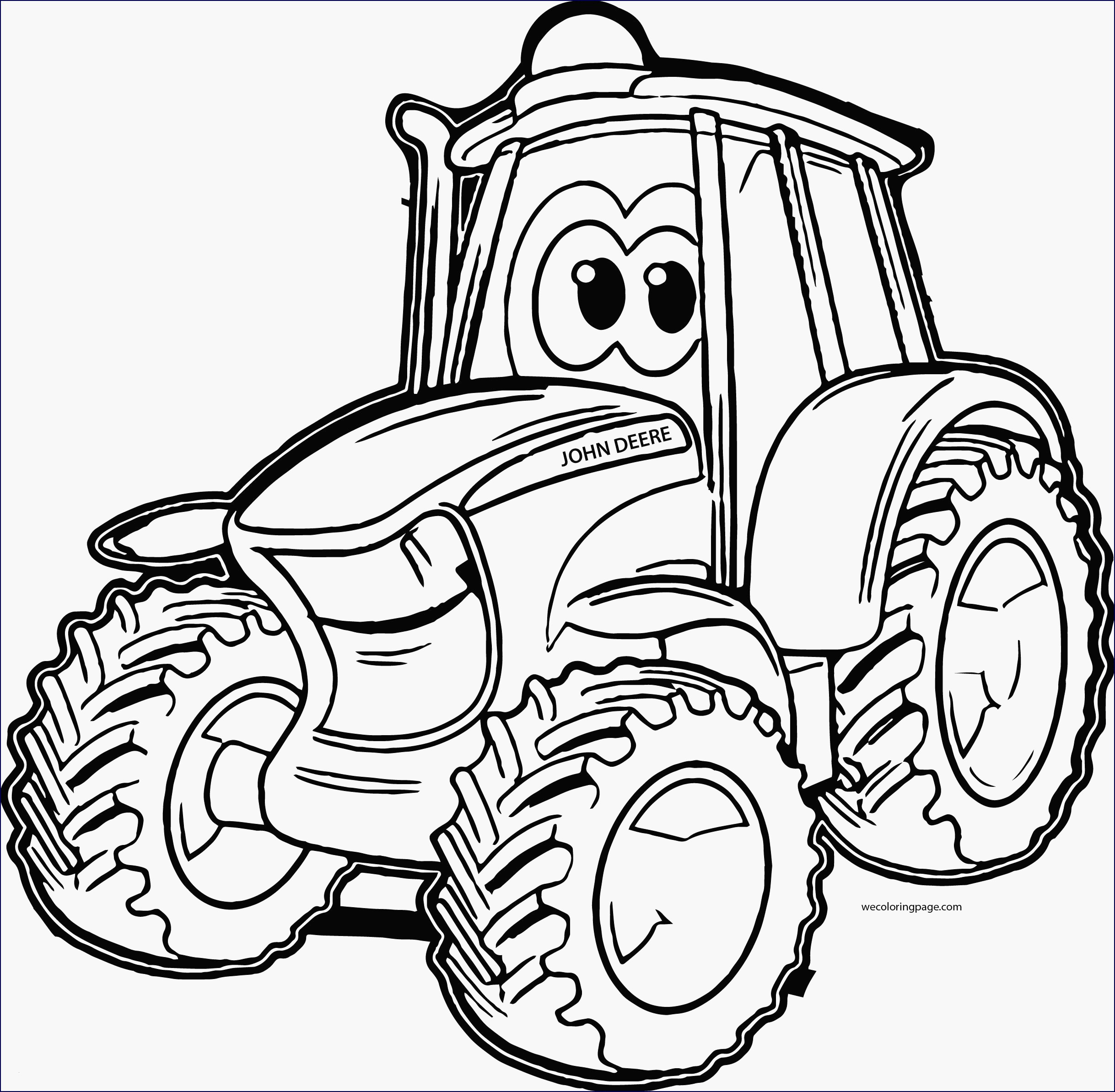 99 Genial Traktor Ausmalbilder John Deere Fotos Kinder Bilder