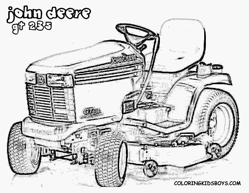 Traktor Ausmalbilder John Deere Frisch John Deere Ausmalbilder Luxus 67 Free Tractor Coloring Pages Fotos