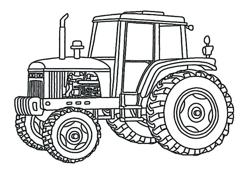 Traktor Ausmalbilder John Deere Frisch John Deere Malvorlagen Fa 1 4 R Kinder Coloring Books for Kids Sammlung