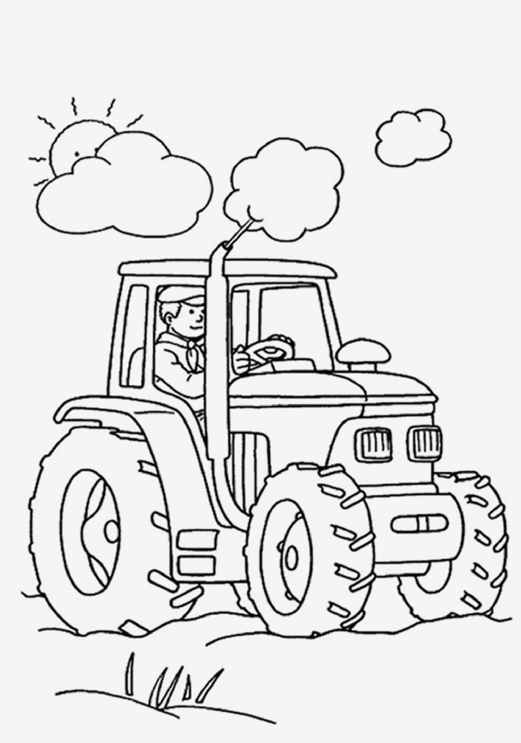 Traktor Bilder Zum Ausmalen Frisch Beispielbilder Färben Traktor Ausmalbilder Bild