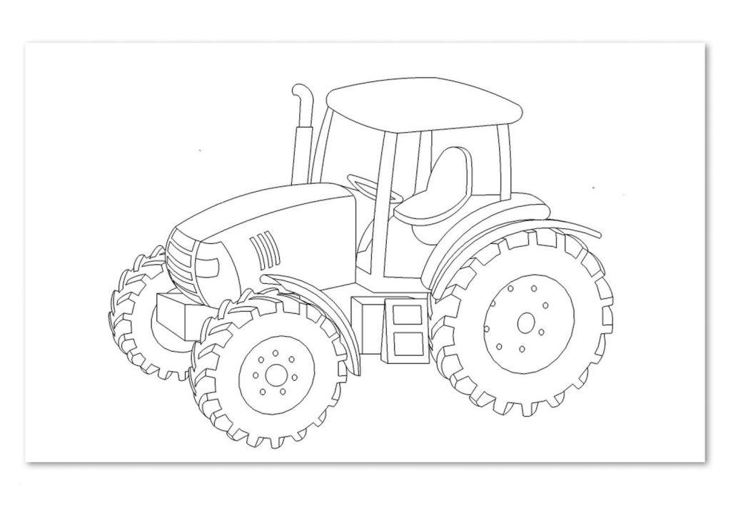 Traktor Bilder Zum Ausmalen Frisch Druckbare Malvorlage Ausmalbilder Trecker Beste Druckbare Galerie
