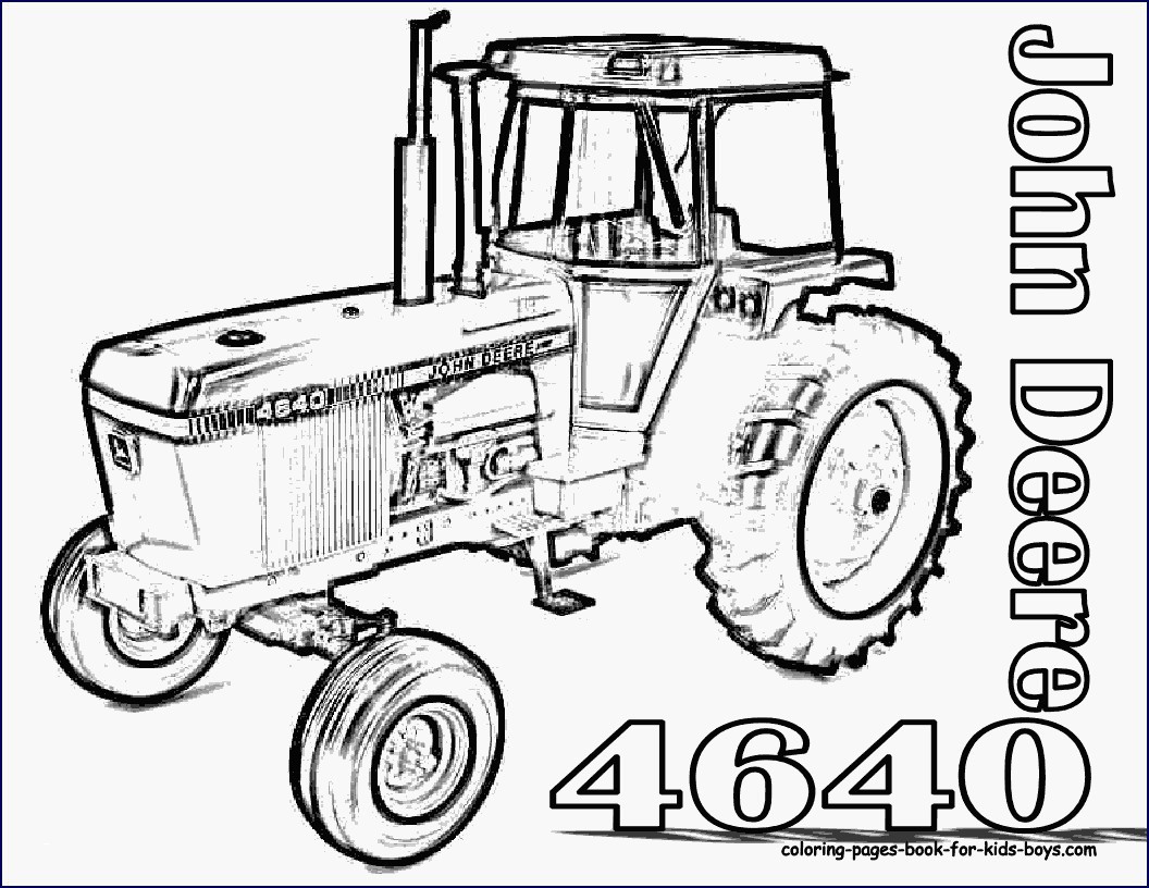 Trecker Ausmalbilder John Deer Das Beste Von John Deere Tractor Coloring Pages New Tractors Drawing at Genial Stock