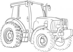 Trecker Ausmalbilder John Deer Einzigartig Step by Step How to Draw A Tractor Galerie