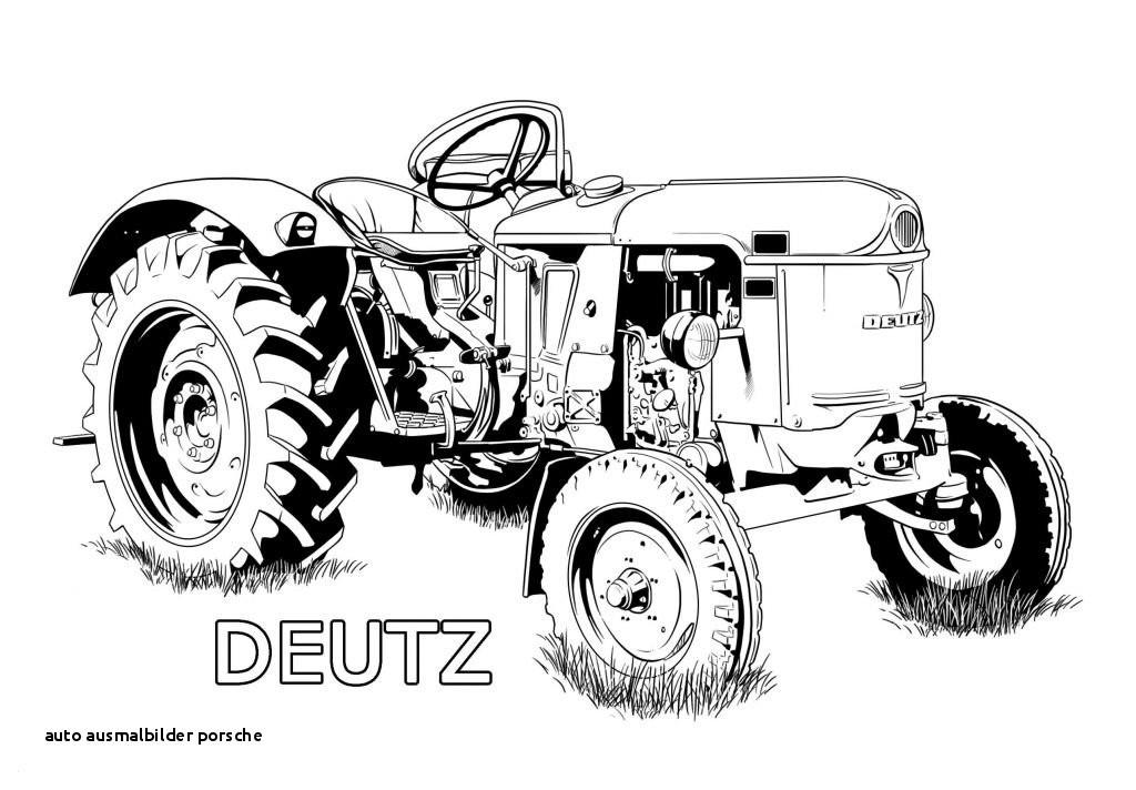 Trecker Zum Ausmalen Das Beste Von Auto Ausmalbilder Porsche 40 Ausmalbilder Traktor Deutz Bilder