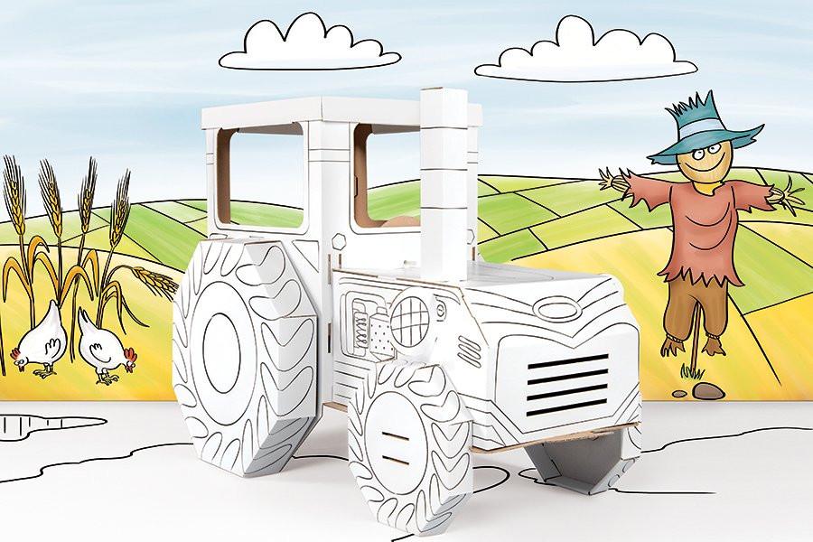 Trecker Zum Ausmalen Genial Traktor Zum Ausmalen Bilder