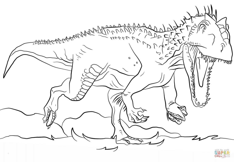 Tyrannosaurus Rex Ausmalbild Frisch Indominus Rex Coloring Page Lovely Tyrannosaurus Rex Ausmalbilder Stock