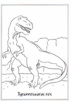Tyrannosaurus Rex Ausmalbild Genial Malvorlage Tyrannosaurus Rex Malvorlagen Ausmalbilder Bild