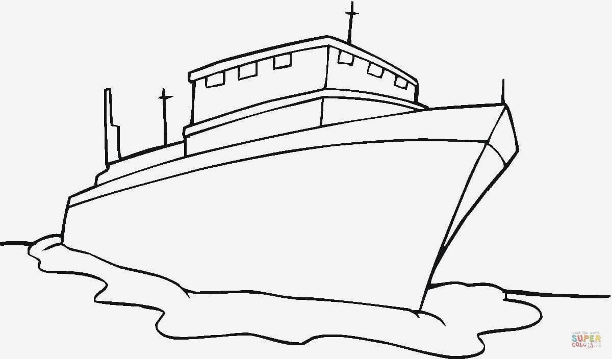 U Boot Ausmalbild Neu Verschiedene Bilder Färben Malvorlagen Boote Kostenlos Fotografieren