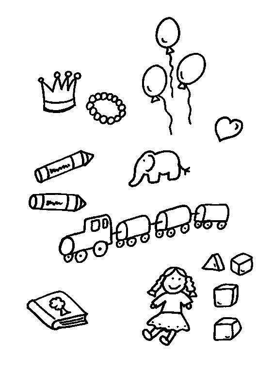 Verkehrserziehung Kindergarten Ausmalbilder Inspirierend Kostenlose Malvorlage Rund Ums Spielen sommerspielsachen Ausmalen Bild