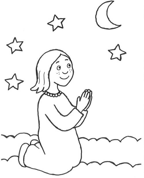 Verkehrserziehung Kindergarten Ausmalbilder Neu Kostenlose Malvorlage Szenen Aus Der Bibel Mädchen Beim Nachtgebet Bilder