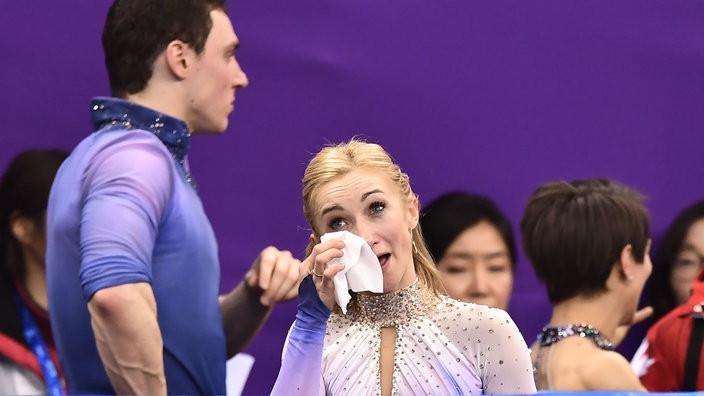 """Walk Of Fame Stern Vorlage Das Beste Von Eiskunstlauf Olympiasiegerin Aljona Savchenko """"ich Weine Seit Drei Galerie"""