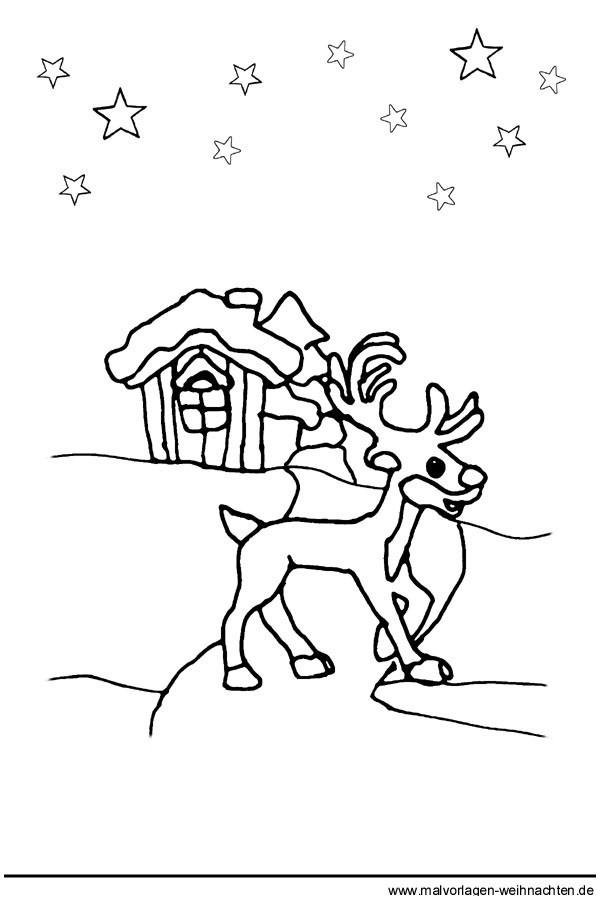 Weihnachts Ausmalbilder Rentier Einzigartig Santa Und Rentier Malvorlagen 44 Ausmalbilder Rentier Perfect Color Sammlung