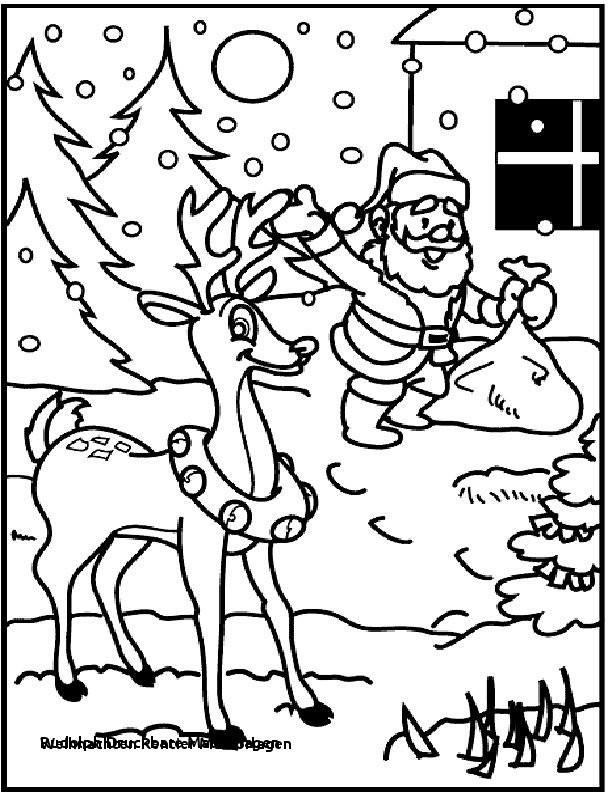Weihnachts Ausmalbilder Rentier Neu Rudolph Druckbare Malvorlagen Weihnachten Rentier Malvorlagen 44 Das Bild