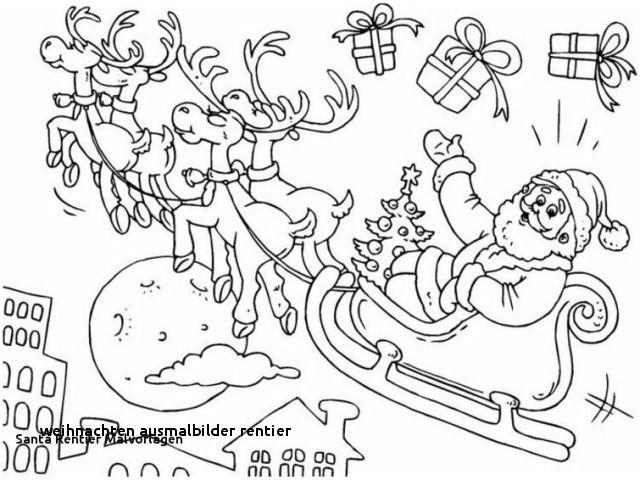 Weihnachts Ausmalbilder Rentier Neu Weihnachten Ausmalbilder Rentier Rentier Bedruckbare Malvorlagen 40 Stock