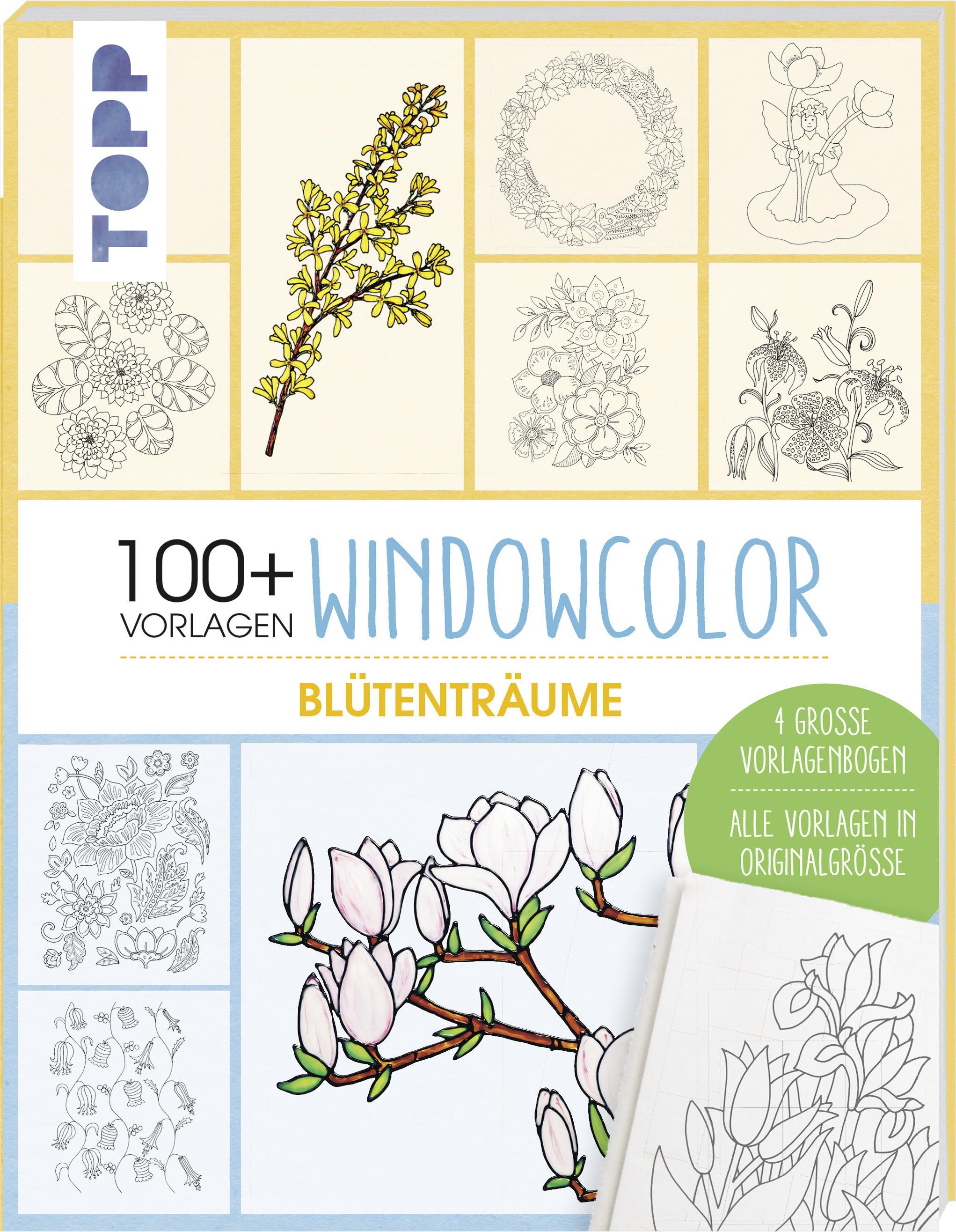 Window Color Malvorlagen Weihnachten Kostenlos Neu Vorlagenmappe Windowcolor Blütenträume Schön Window Color Bild