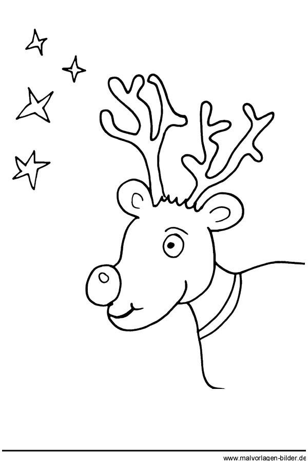 Window Color Vorlagen Weihnachten Rentier Das Beste Von Kostenlose Malvorlagen Weihnachten Rentier Und Sterne Druckfertig Stock