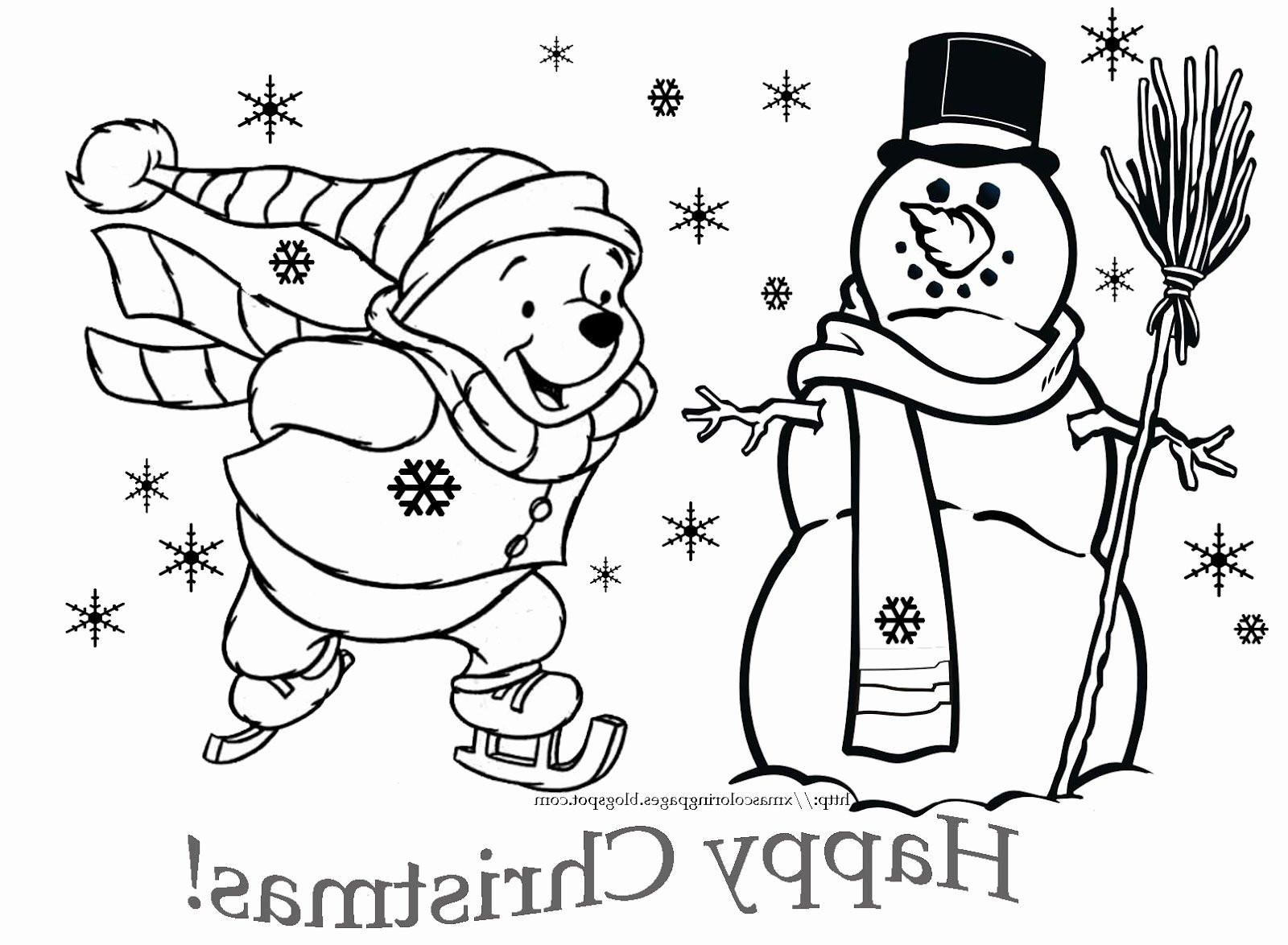 Winnie Pooh Malvorlage Frisch 30 Beste Von Weihnachts Ausmalbilder – Malvorlagen Ideen Fotos
