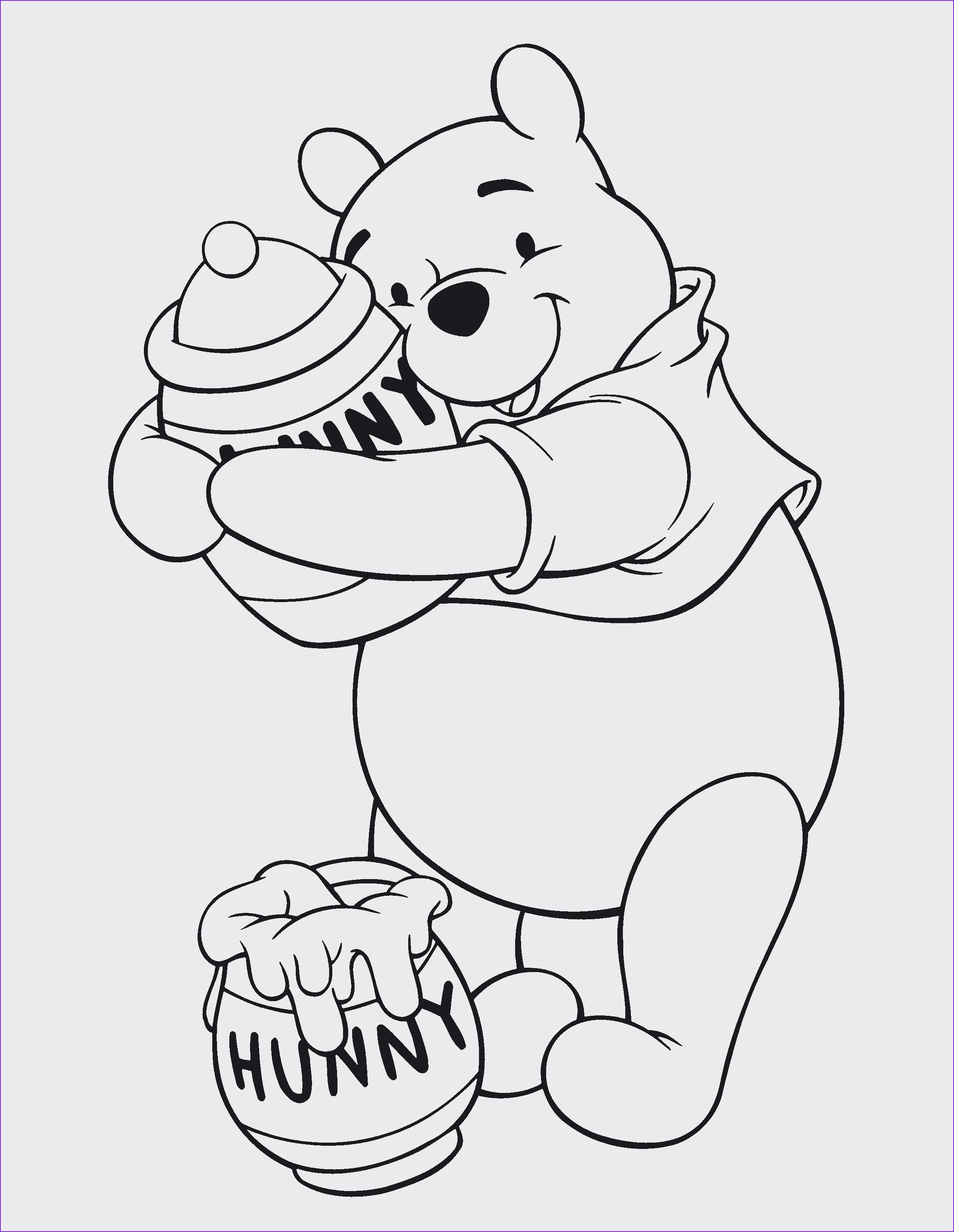 Winnie Pooh Malvorlage Inspirierend Spannende Coloring Bilder Winnie Puuh Ausmalbilder Galerie