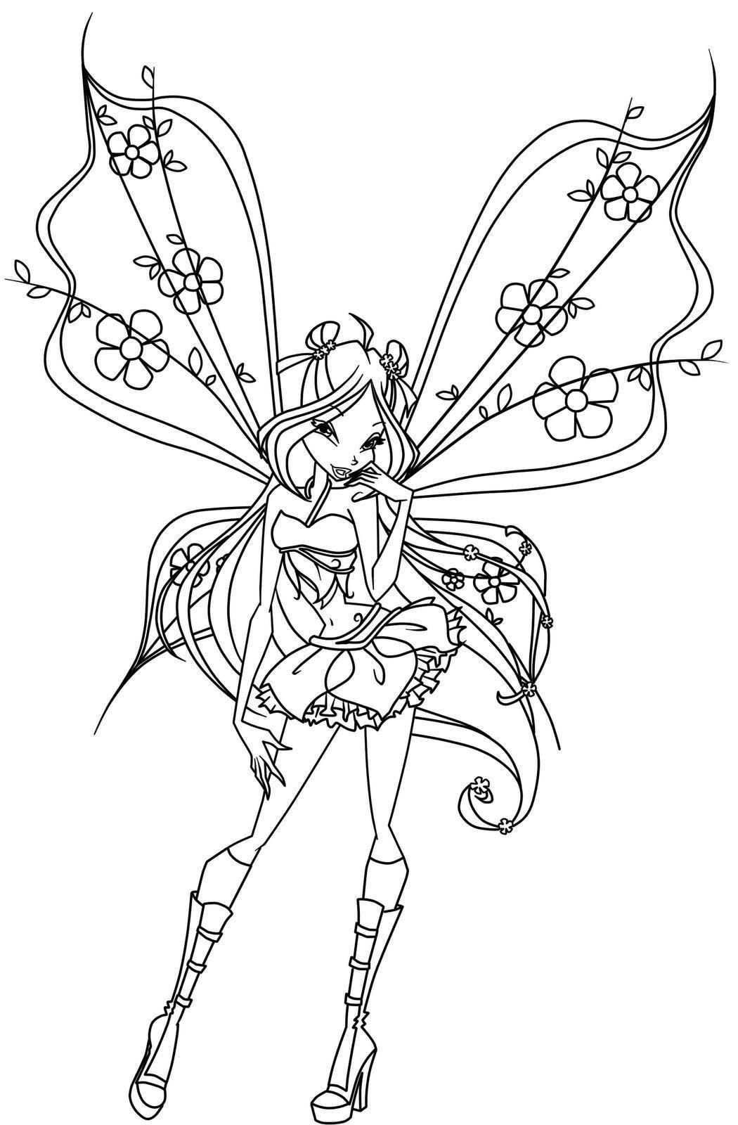 Winx Club Ausmalbilder Inspirierend Fairy Coloring Pages Winx Club Fairy Coloring Einzigartig Bilder