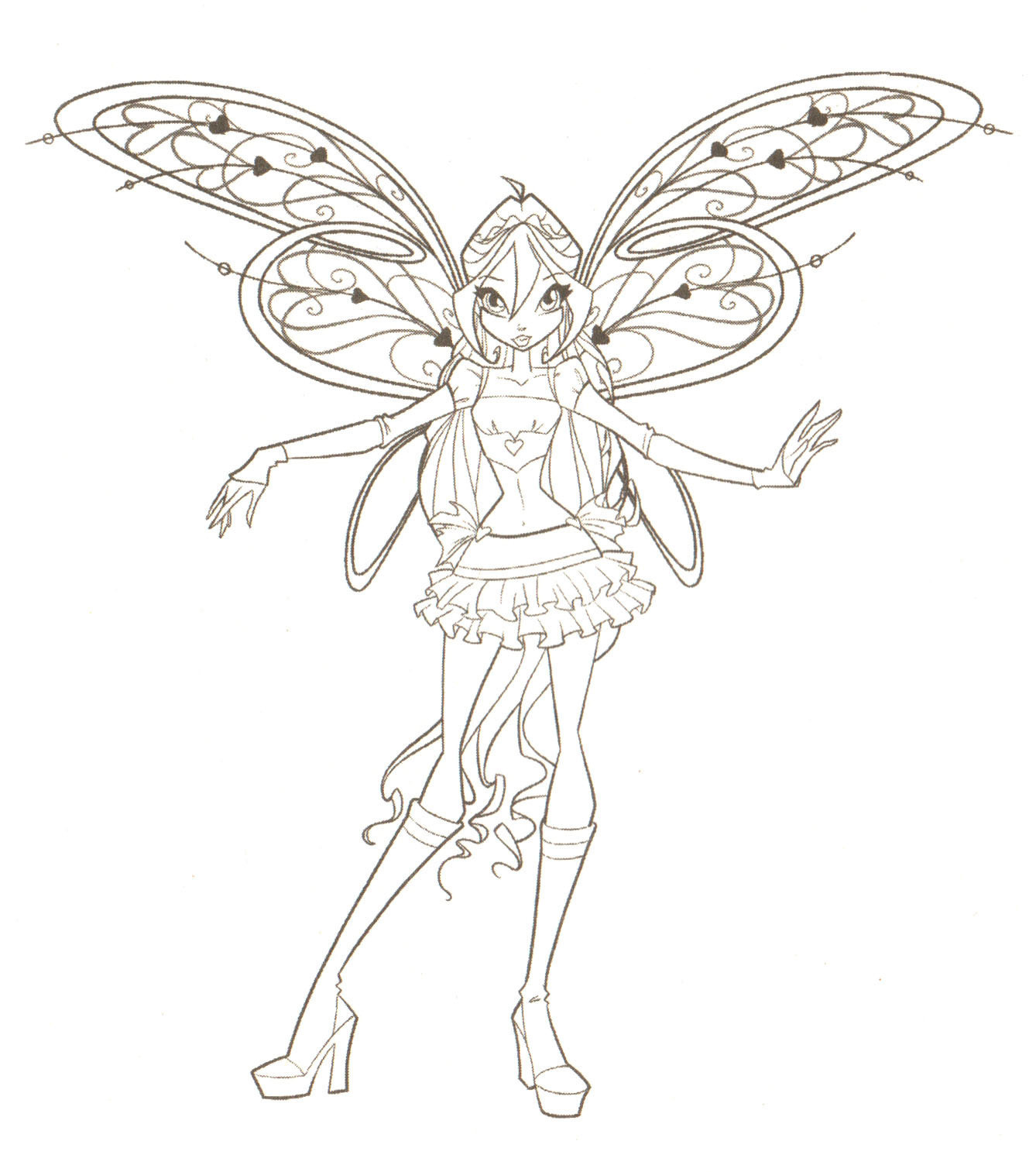 Winx Club Ausmalbilder Inspirierend Winxclub Winx Club Coloring Pages Hd Wallpaper and Frisch Stock