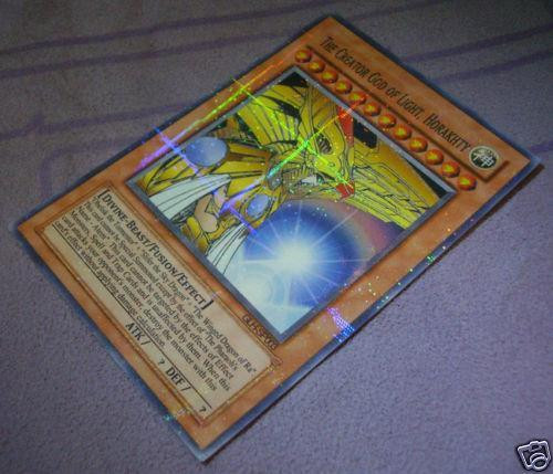 Yugioh Karten Drachen Neu Ra Slifer Obelisk = the Creator Of Light Horakhty Yugioh Yu Bilder