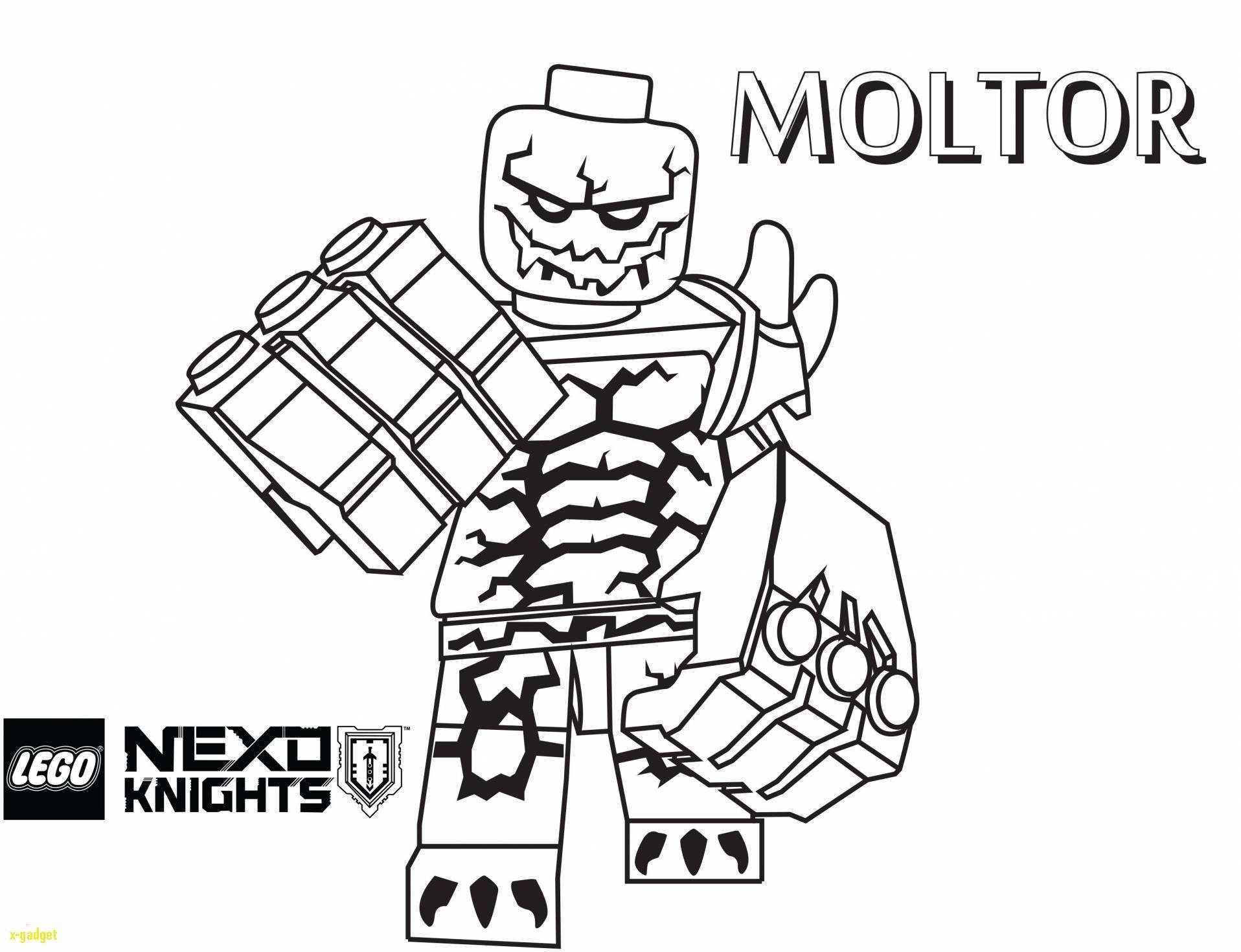 Ausmalbild Nexo Knights Das Beste Von Nexo Knight Coloriage Ideas Lego Nexo Knights Malvorlagen Bild