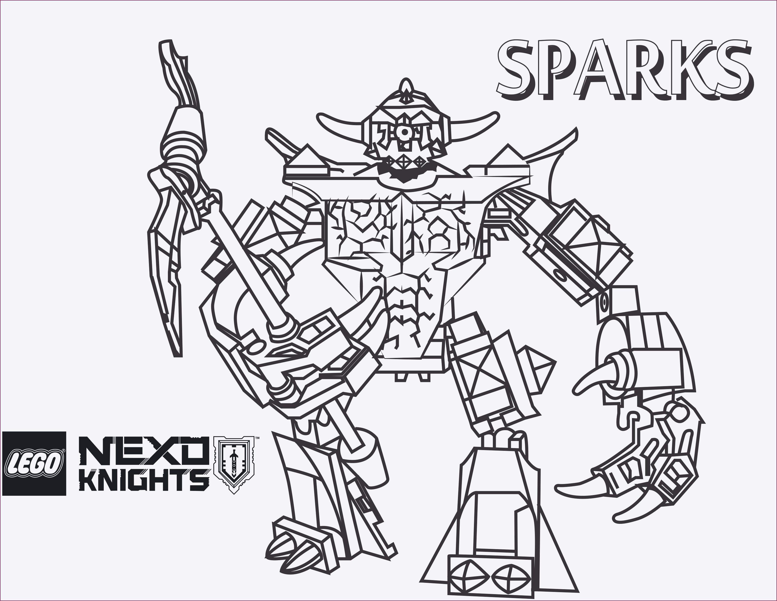 Ausmalbild Nexo Knights Einzigartig Ausmalbilder Kostenlos Lego Nexo Knights Stock