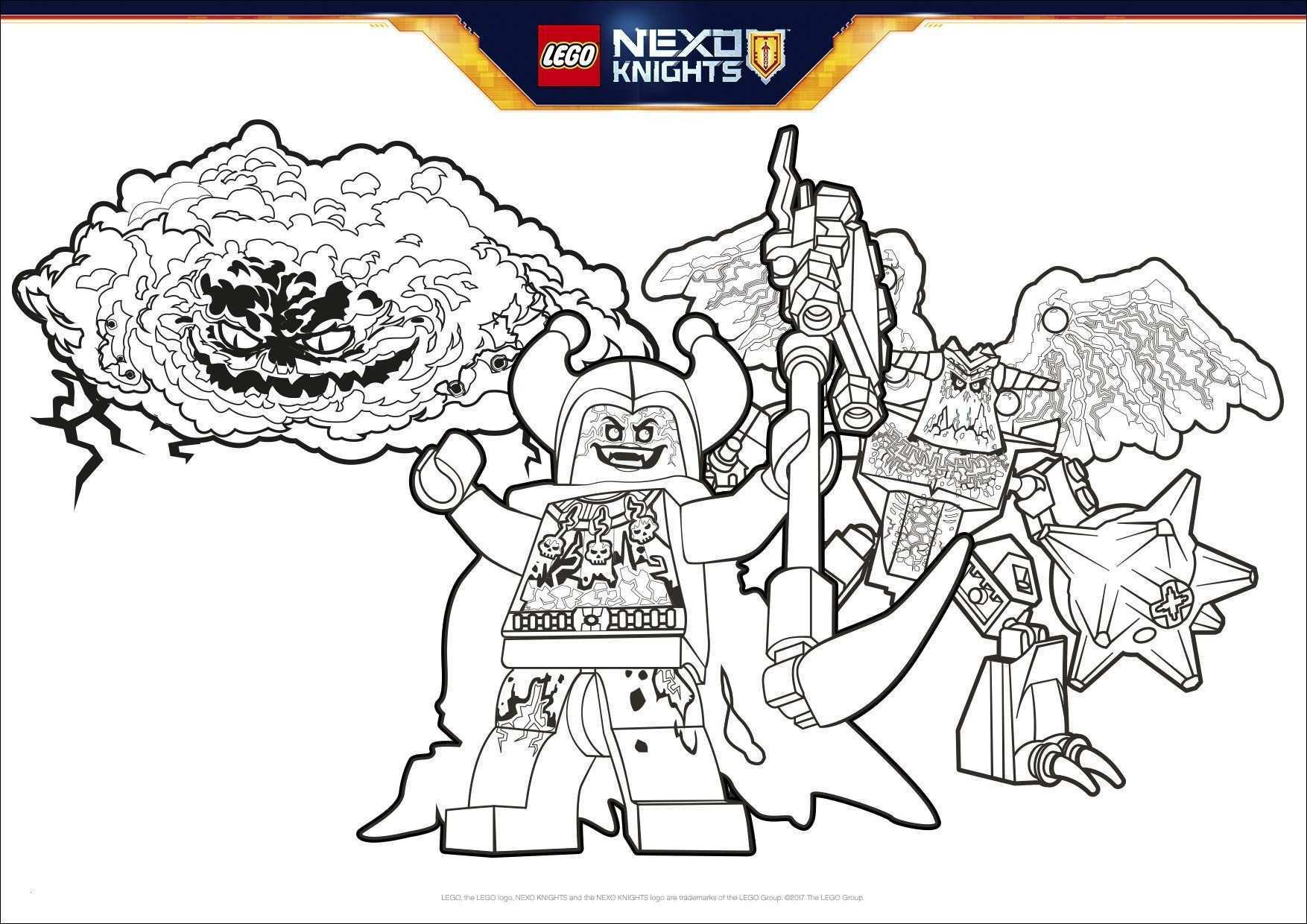 Ausmalbild Nexo Knights Einzigartig Lego Nexo Knights Ausmalbilder Gratis Abbild Nexo Knight Coloring Fotos