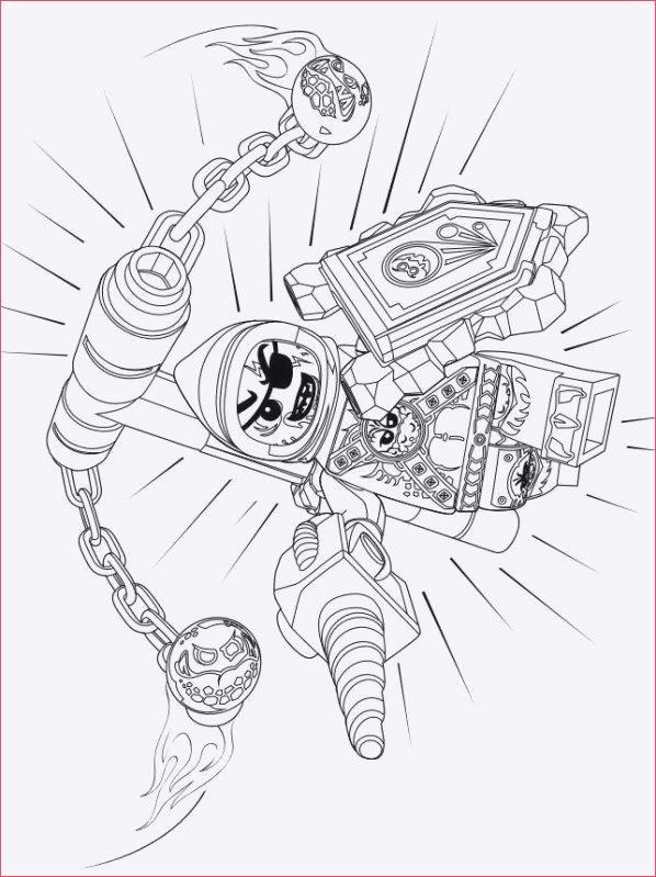 Ausmalbild Nexo Knights Frisch Ausmalbilder Nexo Knights Stock